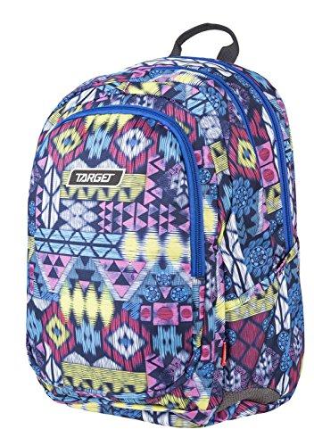 Target 3 Zip, Zaino Aztec, 600d PVC, 24 L Unisex-Adulto, Multicolore (Mehrfarbig), 41 cm