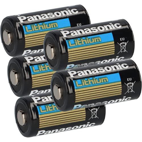5X 3V CR123 CR123A DL123 A Batterien CR17345 Ultra Lithium Foto 3 Volt für Digitalkameras, Alarmanlagen, Sicherheitstechnik, Rauchmelder, Taschenlampen AKKUman Set (5 Stück)