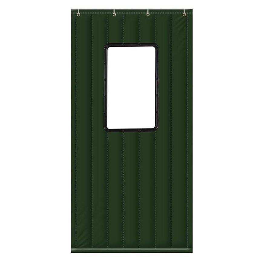 矛盾するのぞき見田舎WUFENG ドアカーテン 厚い 絶縁 防湿 耐寒性 防水 ウィンドウで、 4色 複数のサイズ カスタマイズ可能な (色 : D, サイズ さいず : 100x210cm)
