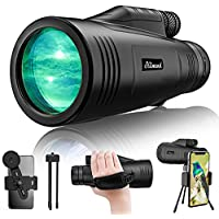 Stilnend 16x55 Monocular Waterproof Dual Focus Optics Zoom Telescope with Day & Low Night Vision