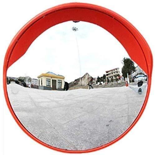 Hfyg Traffic Mirror Security Spiegels, Straat Polycarbonaat Verstelbare Convex Spiegels, Parking-Street Observatie Spiegels, met Cap 80Cm