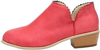 esCharol Zapatos Para Amazon MujerY Rojo Botas I7vYbf6gym