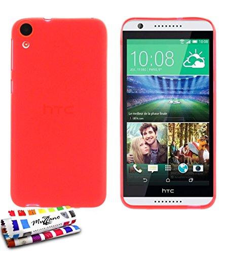 Muzzano F2501512 - Funda para HTC Desire 820, color rojo