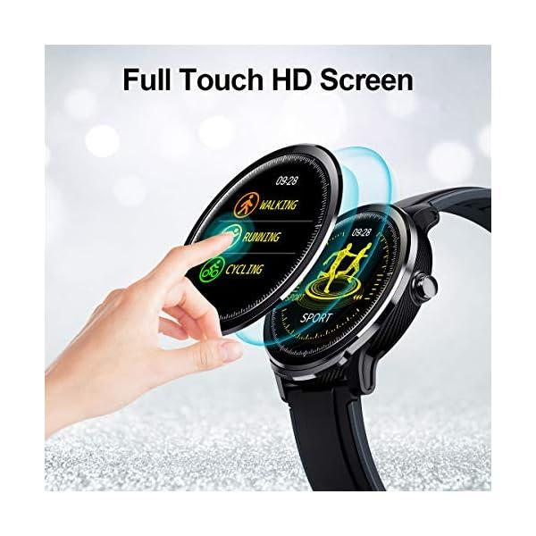 GOKOO Bluetooth Smartwatch Hombre Reloj Inteligente Fitness IP68 Impermeable Actividad Monitor Pulsómetro Compatible con… 7