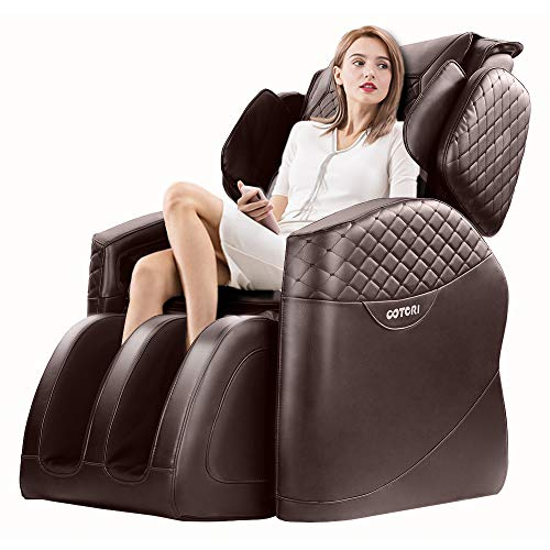OOTORI Full Body Massage Chair, Zero Gravity Airbags Shiatsu Massage Chairs Recliner...
