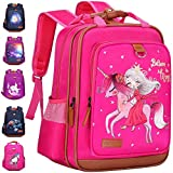 Backpack for Girls Unicorn 15' | Durable and Functional School Book Bag for Kindergarten or Elementary | Lightweight Back Pack for Kids