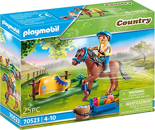 Playmobil- Pony Welsh, Colore, 70523