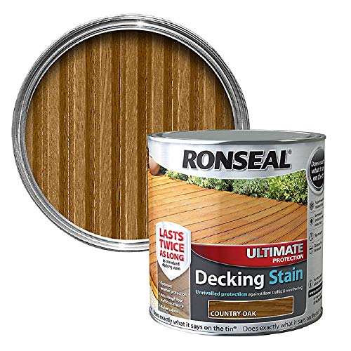 RONSEAL Ultimate Protection Decking Stain Country Oak 5L