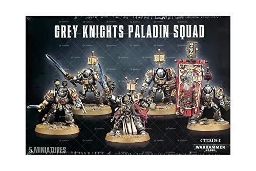 Games Workshop Warhammer 40k - Grey Knights Paladins/Terminators Squad