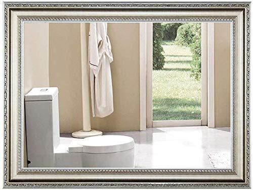 ShiSyan Cuarto de baño Cuadrado Espejo de Maquillaje, decoración de la Pared de Belleza Espejo, Espejo Vestir (Tamaño: 50 * 70 cm) Espejos