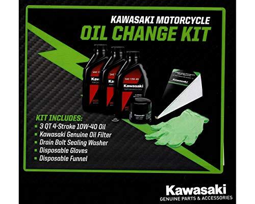 Kawasaki OEM Oil Change Kit Ninja 400 EX400 Z400 99974-0056