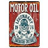 Motorrad Metallschild Blechschild Vintage Bar Home Decor