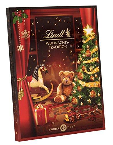 Lindt & Sprüngli Christmas Tradition Calendario dell'Avvento, 1 x 250 g