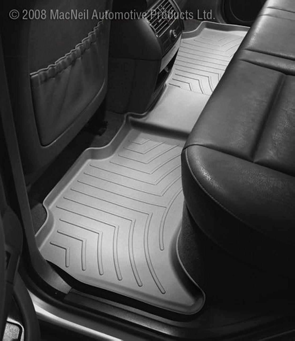 WeatherTech Custom Fit Rear FloorLiner for Dodge Ram 1500 Crew Cab, Grey