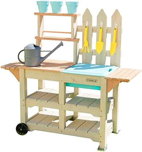 marcas de diseñadores baratos KidKraft Play Kitchen Color Color Color marrón 415  a la venta