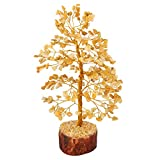 YATHABI Feng Shui Natural Yellow Aventurine Crystal Tree Money...