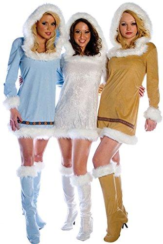 Adult Sexy Eskimo Costume (Size:Medium 10-12)