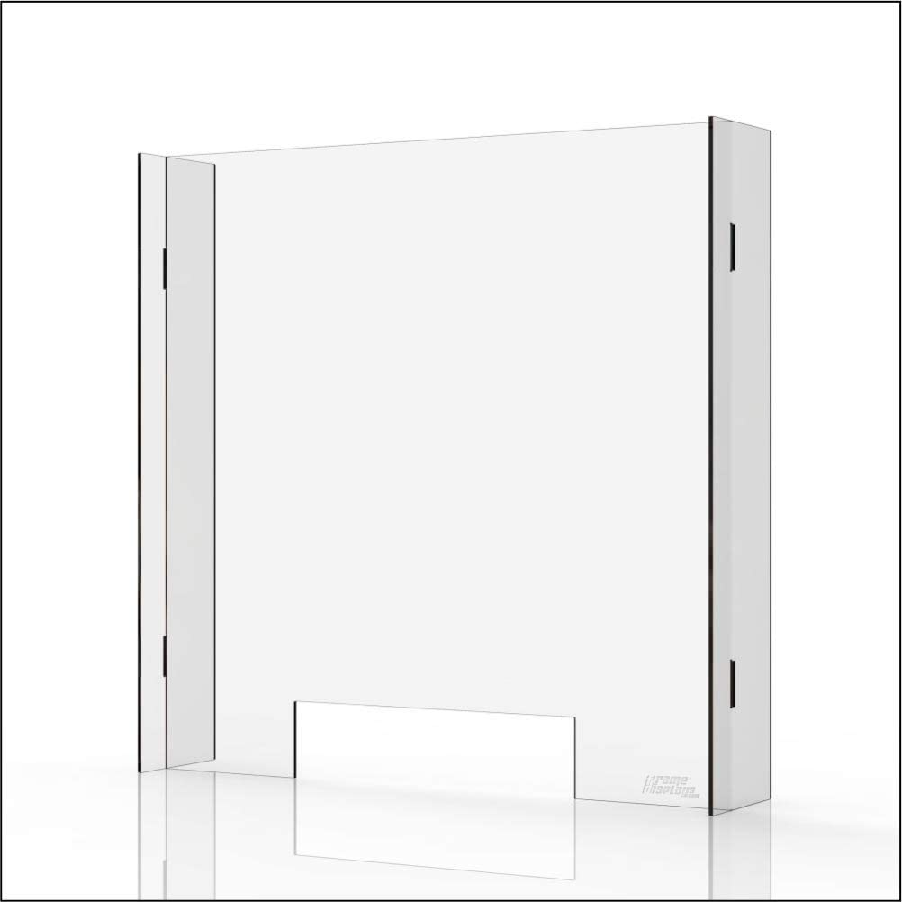 New mail order Ranking TOP18 Sneeze Guard Shield For Counters - Plexi Clear 4