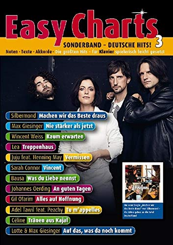Easy Charts Sonderband: Deutsche Hits! 3: Die größten Hits spielerisch leicht gesetzt. Sonderband 4. Klavier / Keyboard. Spielbuch. (Music Factory)