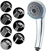 Lucksun Shower Head,7 Mode Settings High Pressure Shower Head, Has a 3.5-inch Luxury Shower Head,Universal Adjustable...