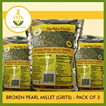 Shastha Broken Pearl Millet (Grits) (Pack of 3) Each Pkt 500 g (B-P)
