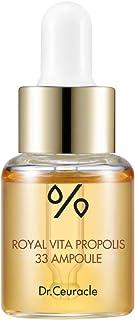 Dr.Ceuracle Royal Vita Propolis 33 Ampoule (strengthen the skin moisturizing, nourishing, soothing, skin health, honey ess...