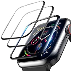 ✓ Designed for the 40MM – This screen protector fit for apple watch 2018 series 4 and 2019 series 5 Apple Watch 40mm, it will not fit other sizes. ✓ 3D All-around protection – Completely covers watch screen from edge to edge, Perfect performance on a...