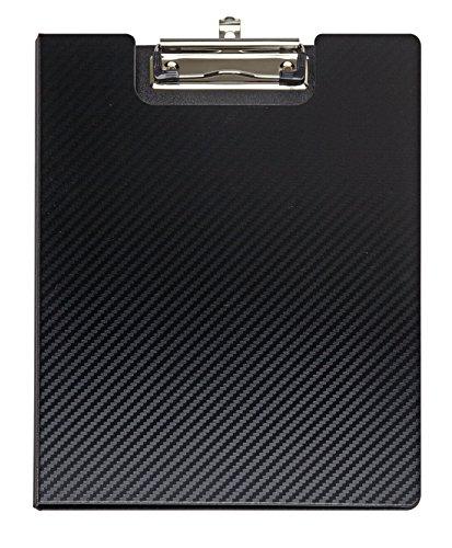 Klemmbrettmappe MAULflexx, Strapazierfähige A4 Schreibmappe, Einschiebbare Aufhängöse, Schwarz