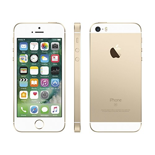 Apple iPhone SE Smartphone (Certificato Ristrutturato) - Dorato, 64 GB