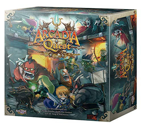 Cool Mini or Not 002647 Arcadia Quest - Grundspiel