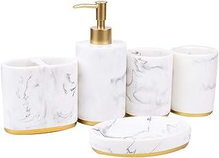 Bathroom Accessories Set, 5 Pieces Bath Ensemble, Bath Set 5 Pieces Bath Ensemble, Perfectly Your Friend, Business Partner