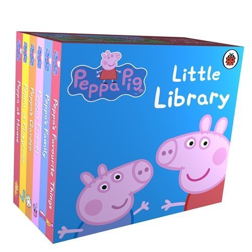 Peppa Pig Little Library 6 Books for Little Hands