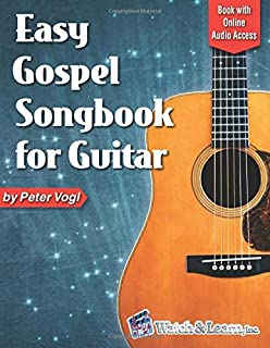 Easy Gospel Songbook for Guitar: Book with Online Audio Access