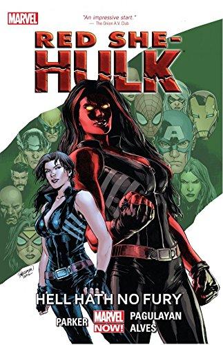 Red She-Hulk: Hell Hath No Fury (Hulk (2008-2013) Book 1) (English Edition)
