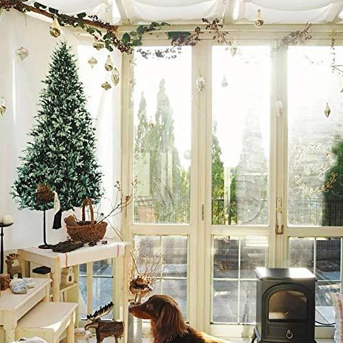 Envisioni Christmas Tree Tapestry La squisita tecnologia Hanging Print offre colori vivaci e immagini chiare, colori non adatti per la decorazione da soffitto