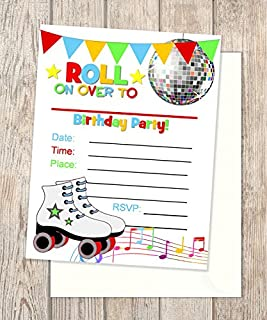 Best roller disco invitations Reviews