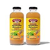 Bragg Organic Apple Cider Vinegar Beverage, Honey & Green Tea - 16oz, 2 Pack