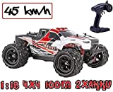blij´r Speed´r in Rot ferngesteuertes RC Auto 45 km/h, 1:18, 2 Akkus, 4x4 Allrad, 100m Reichweite,...