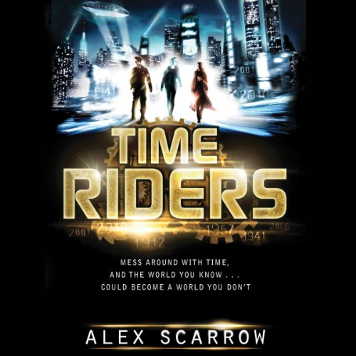 TimeRiders audiobook cover art