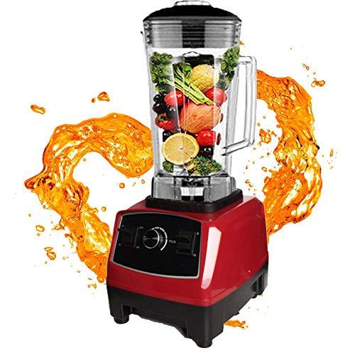 Licuadora Vertical, 43,000 Rpm, Procesador De Alimentos Con 6 Cuchillas Afiladas Para Helado/Nueces/Sopa/Salsa De Soya, 2,200 W Para Prensa De Frutas Y Verduras
