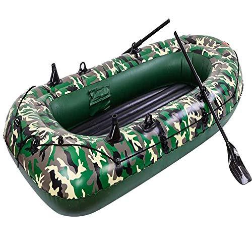 ACEWD Botes Inflables De Rio, Barca Hinchable con Remos 2 3 4 Personas, Kayaks Hinchables, Balsa Hinchable Playa, Balsa Hinchable Pesca, Balsa Hinchable,S
