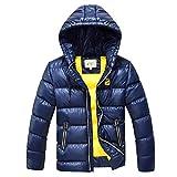 SXSHUN Niños Chaqueta de Nieve para Invierno Boys' Snow Jacket Abrigo Acolchado con...