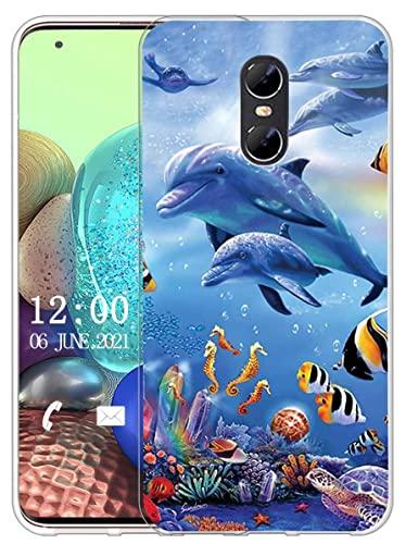 Sunrive Kompatibel mit Ulefone Gemini Hülle Silikon, Transparent Handyhülle Schutzhülle Etui Hülle (X Wal)+Gratis Universal Eingabestift MEHRWEG