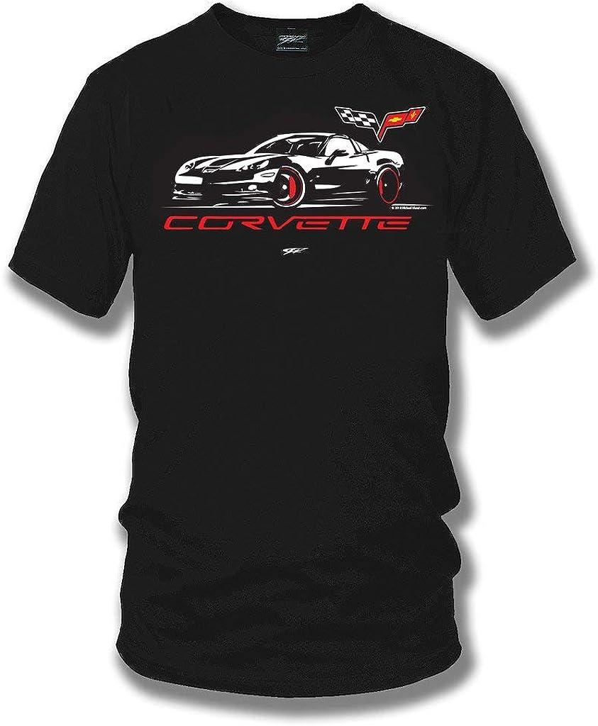 2021 model Wicked Metal 2021 new Corvette c6 Stylized C6 - Sh Logo