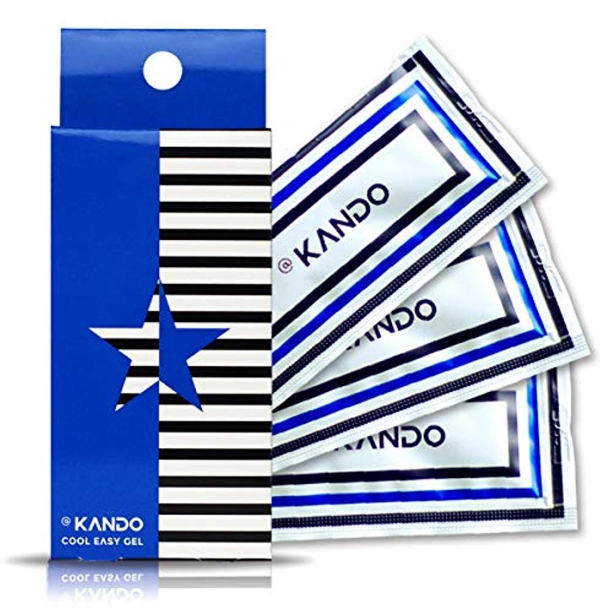 ひいきにするだらしない月曜日@KANDO アットカンドクールイージージェル(ボディマッサージジェル)5g×3包入 冷感タイプ