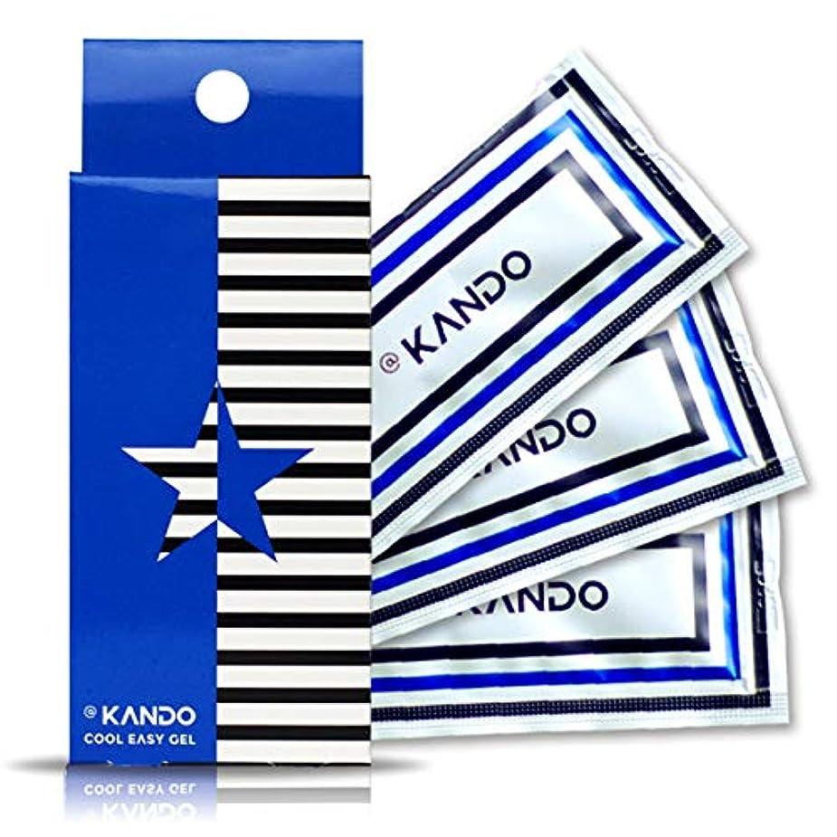 連鎖制裁ベーリング海峡@KANDO アットカンドクールイージージェル(ボディマッサージジェル)5g×3包入 冷感タイプ