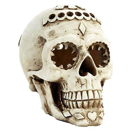 Pet Ting Forbidden Skull Ornamento - Fish Tank Vivarium Decoración Reptil