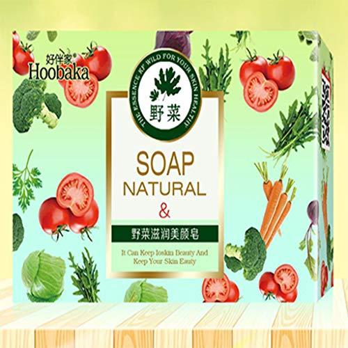 Oude gember zeep, handgemaakte rijst zeep, rose melk reiniging en baden huidvriendelijke zeep, milieuvriendelijke natuurlijke reiniging zeep,Vegetable,1
