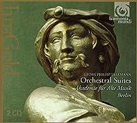 テレマン : 管弦楽組曲集 (Georg Philipp Telemann : Orchestral Suites / Akademie fur Alte Musik Berlin) (2CD) [輸入盤]