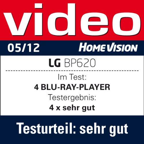LG BP620 - Reproductor de Blu-ray (Smart Tv, Wifi, USB), color negro: Amazon.es: Electrónica